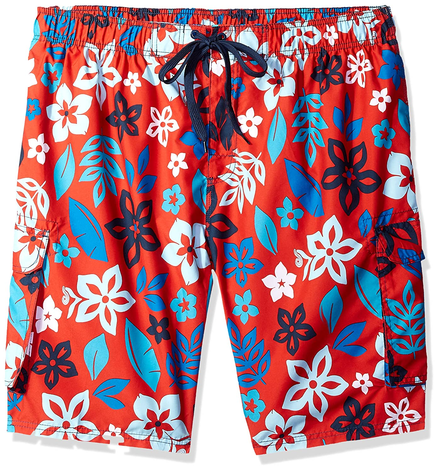 Kanu Surf Men's Big Revival Extended Size Quick Dry Beach Shorts Swim Trunk 5452X