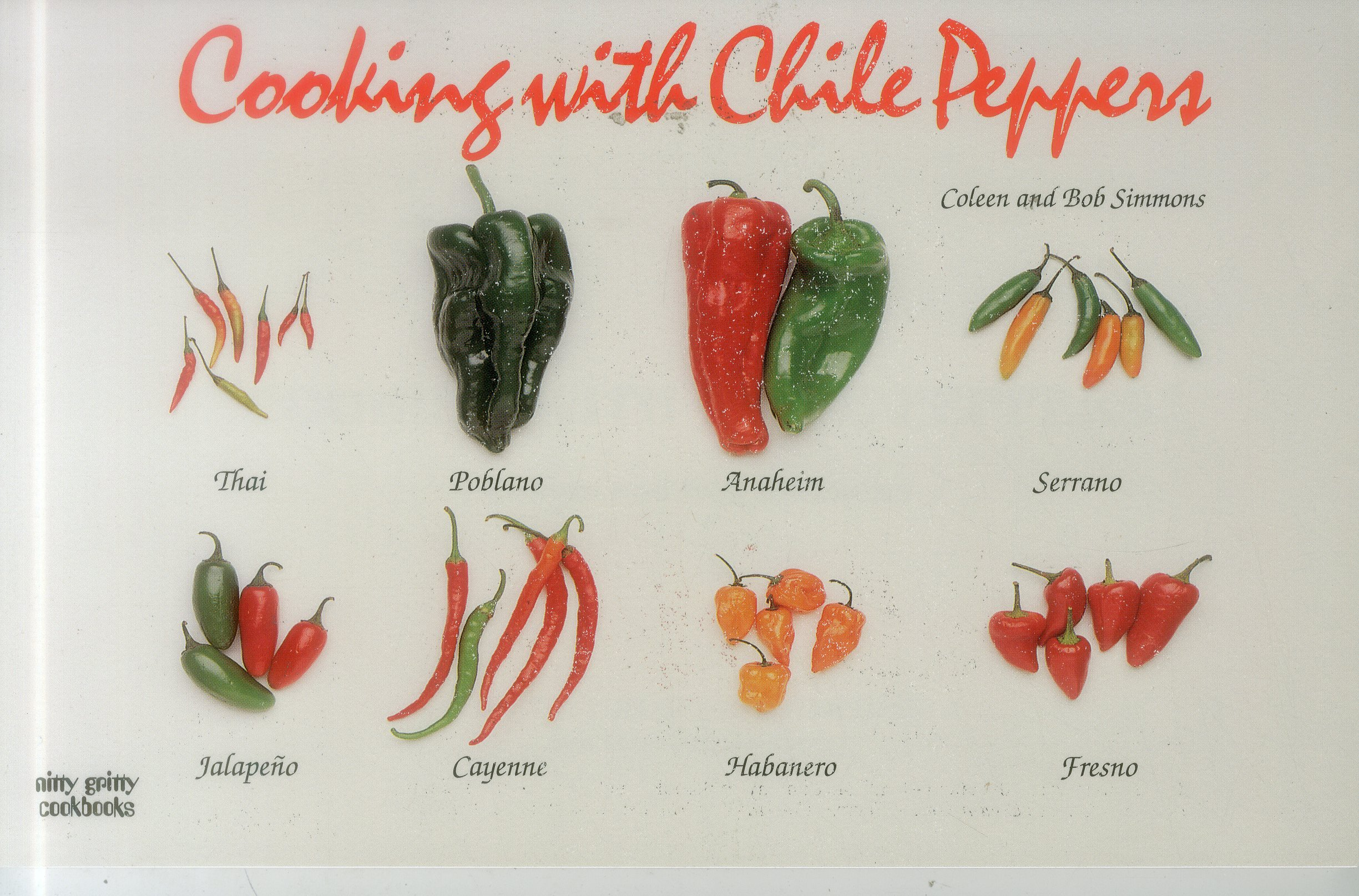 Download Cooking With Chile Peppers (Nitty Gritty Cookbooks) pdf
