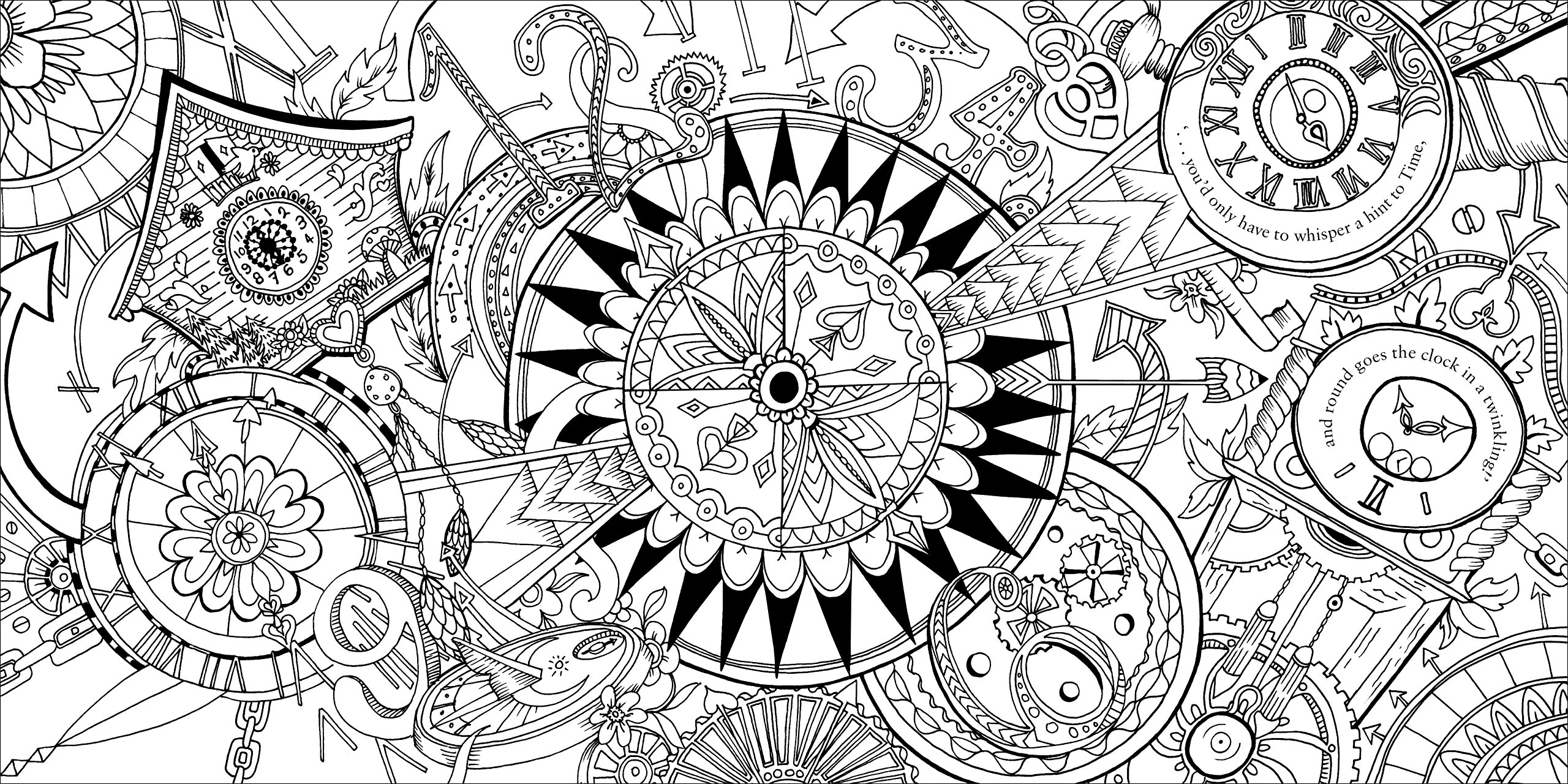 Escape to Wonderland: A Colouring Book Adventure: Good Wives ...