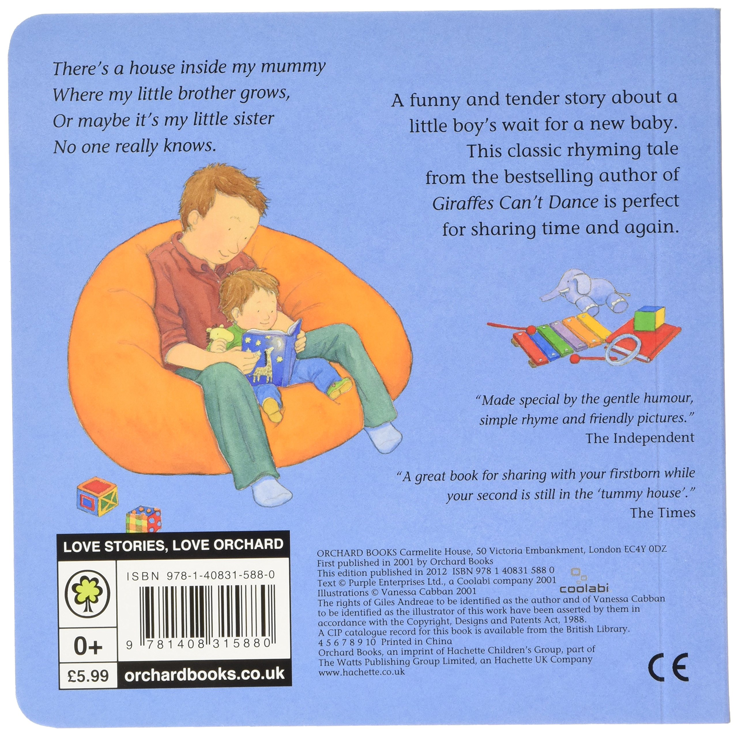 There\'s A House Inside My Mummy Board Book: Amazon.de: Giles Andreae ...