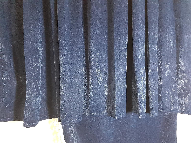 5-Teilig Set Blau Gardinen mit Wei/ß Bommeln UNIVERSAL GR/ÖSSE Alle Marken Modelle Truck LKW Zubeh/ör Dekoration Innenraum Vorh/änge Pl/üsch Stoff
