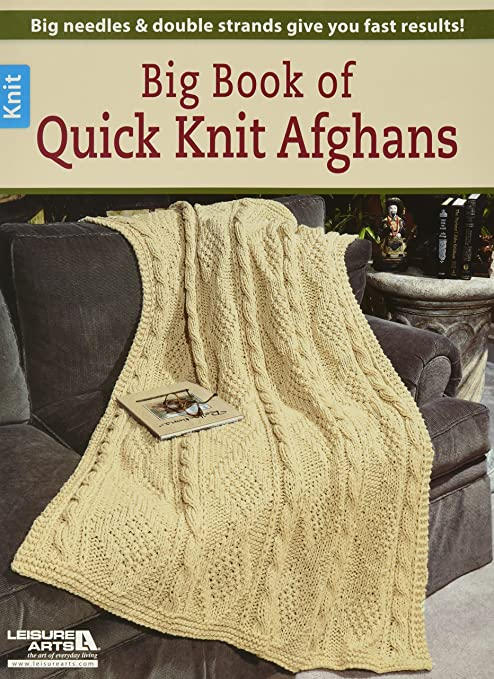 Amazon.com: Ocio arts-big libro de Quick Knit Afganos ...
