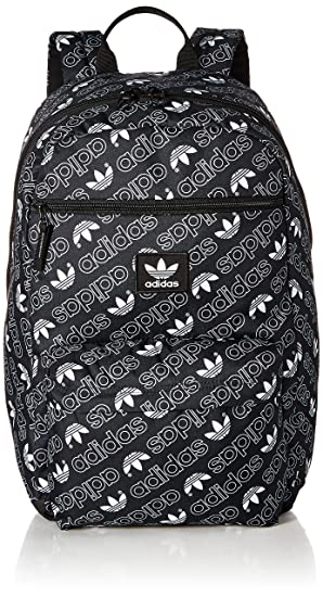 d6a6d380239 Amazon.com: adidas Originals National Backpack, Black, One Size ...