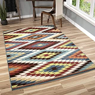 "product image for Orian Rugs Veranda Indoor/Outdoor Sedona Area Rug, 5'2"" x 7'6"", Multicolor"