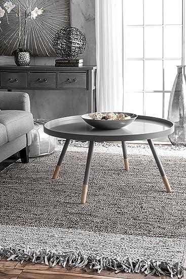 Amazon.com: nuLOOM ssok01 a Otha borla hecho a mano alfombra ...
