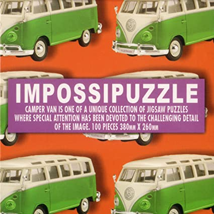 Amazon Com Camper Van Impossible Cube Puzzle Toys Games
