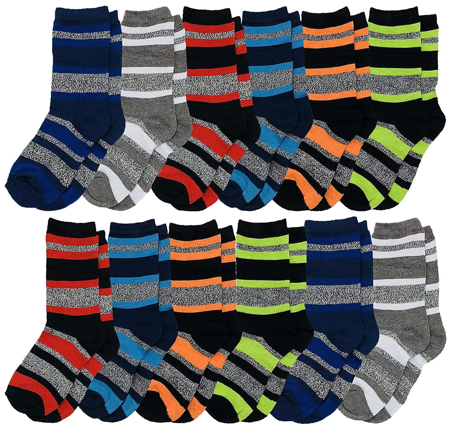 424e08a461f2 CUTE BOYS DRESS SOCKS: Get 6 or 12 pairs of stylish dress socks to keep the  boys looking sharp. Whether it's for a wedding, an upcoming event, ...