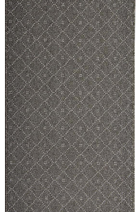 NEWTON Teppichläufer Küchenmatte Teppich Läufer Braun 67 cm 80 cm 100 cm