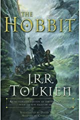 The Hobbit (Graphic Novel) with a subtitle of An illustrated edition of the fantasy classic Paperback