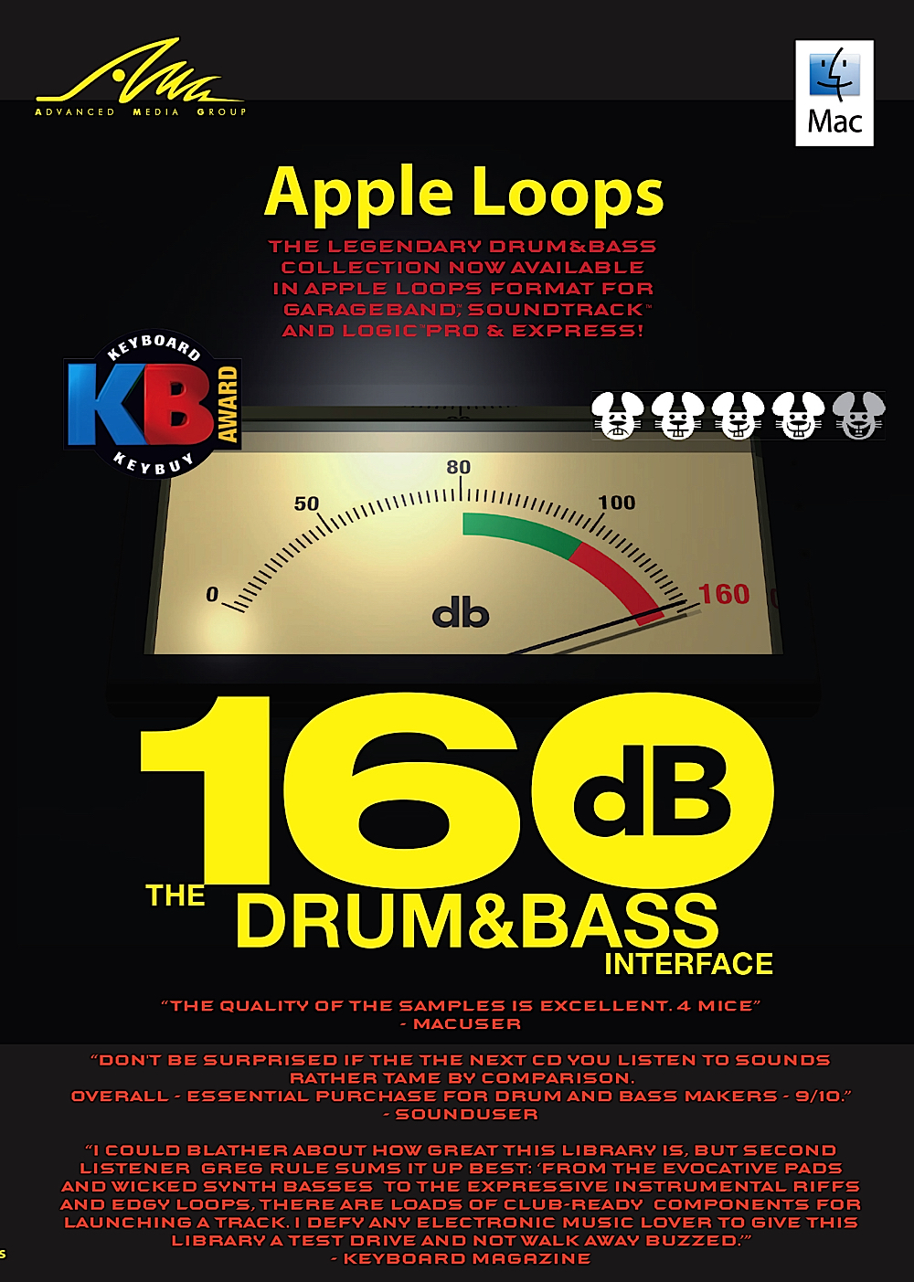 Amg Sample Cd (160dB: The Drum&Bass Interface - New Apple Loops for GarageBand - DOWNLOAD)