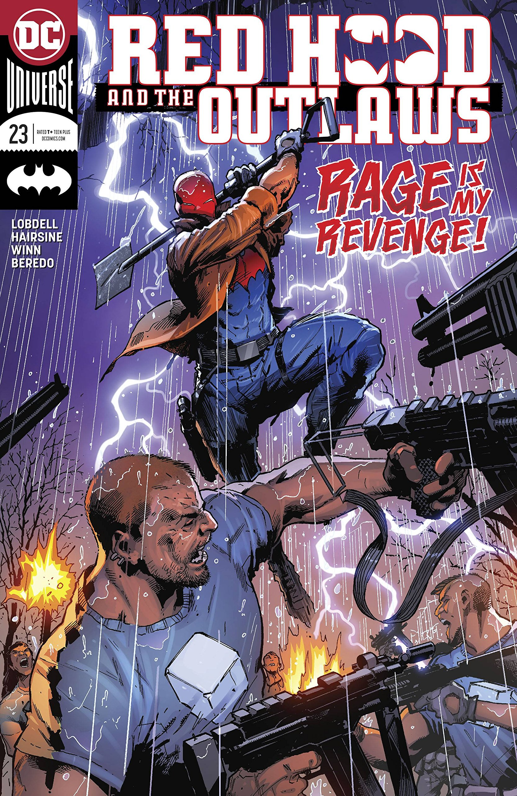 RED HOOD AND THE OUTLAWS #23 RELEASE DATE 6/13/2018 pdf epub