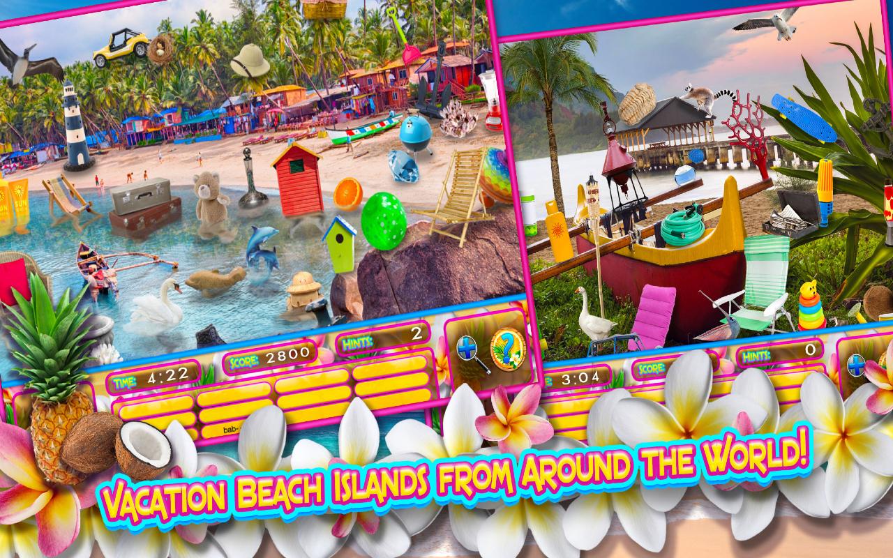 Amazon.com: Hidden Objects Island Vacations – Vacation ...