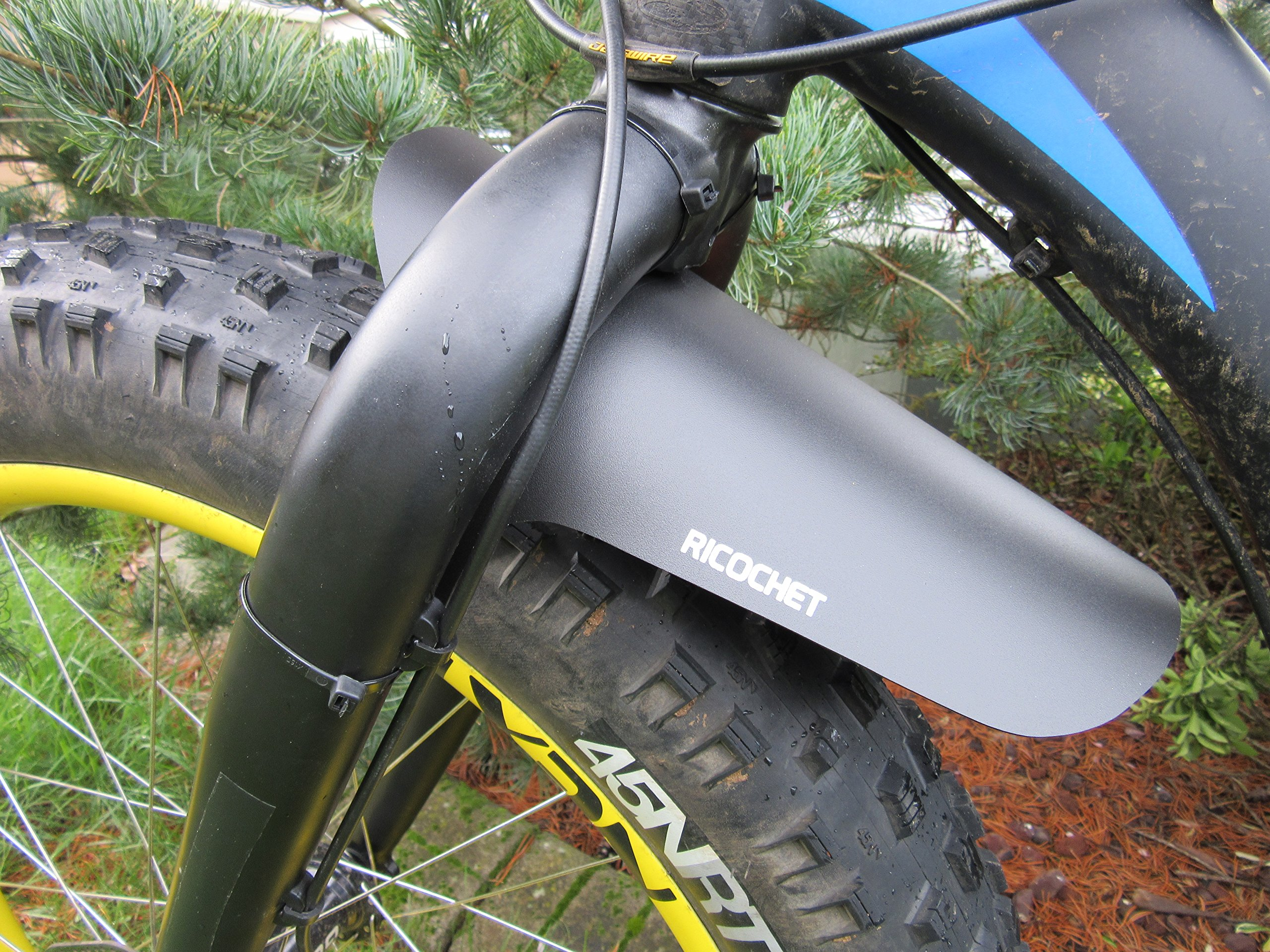 The Hard Egg Head Taint Muddy Brand Fat Bike Rigid Fork Fender