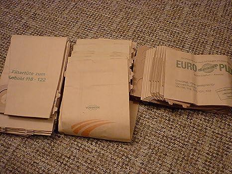 Original Bolsas Para Kobold Vk 120/122/121 Vorwerk: Amazon ...