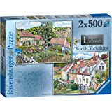 Ravensburger Cosy Cottages No.1 - North Yorkshire 2x 500pc Jigsaw Puzzle