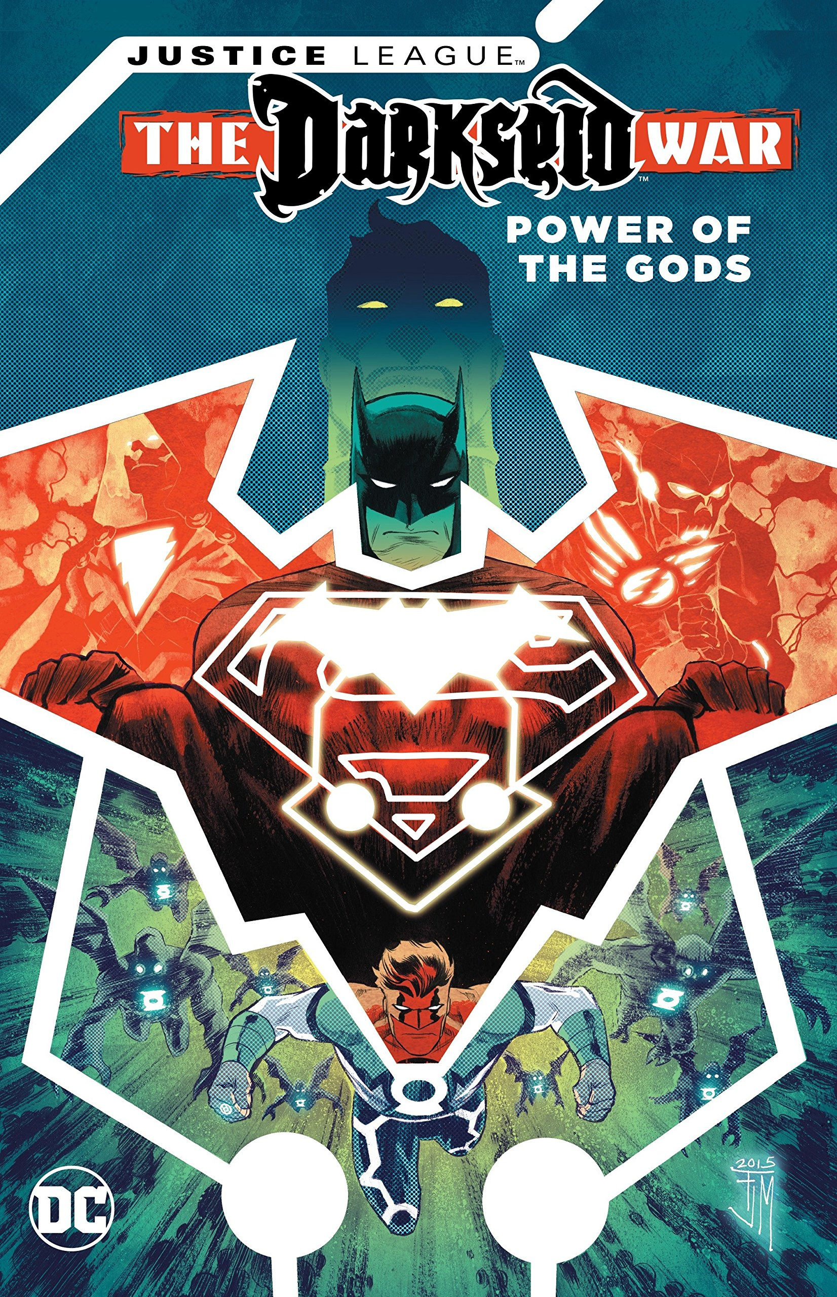 Power of the Gods Hardcover Graphic Novel New Justice League Darkseid War