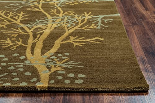 Rizzy Home Craft Collection Wool Area Rug