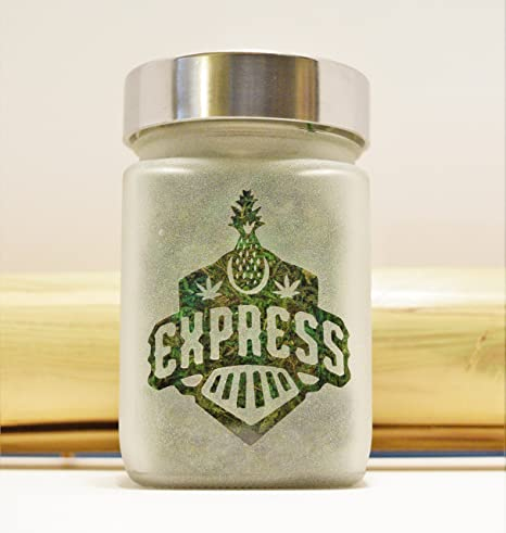 Amazon.com : Pineapple Express Stash Jar - Stash Jar & Weed Accessories - Stoner Gifts - Cannabis Gifts - Stoner Accessories - Ganja Gift Ideas : Everything ...