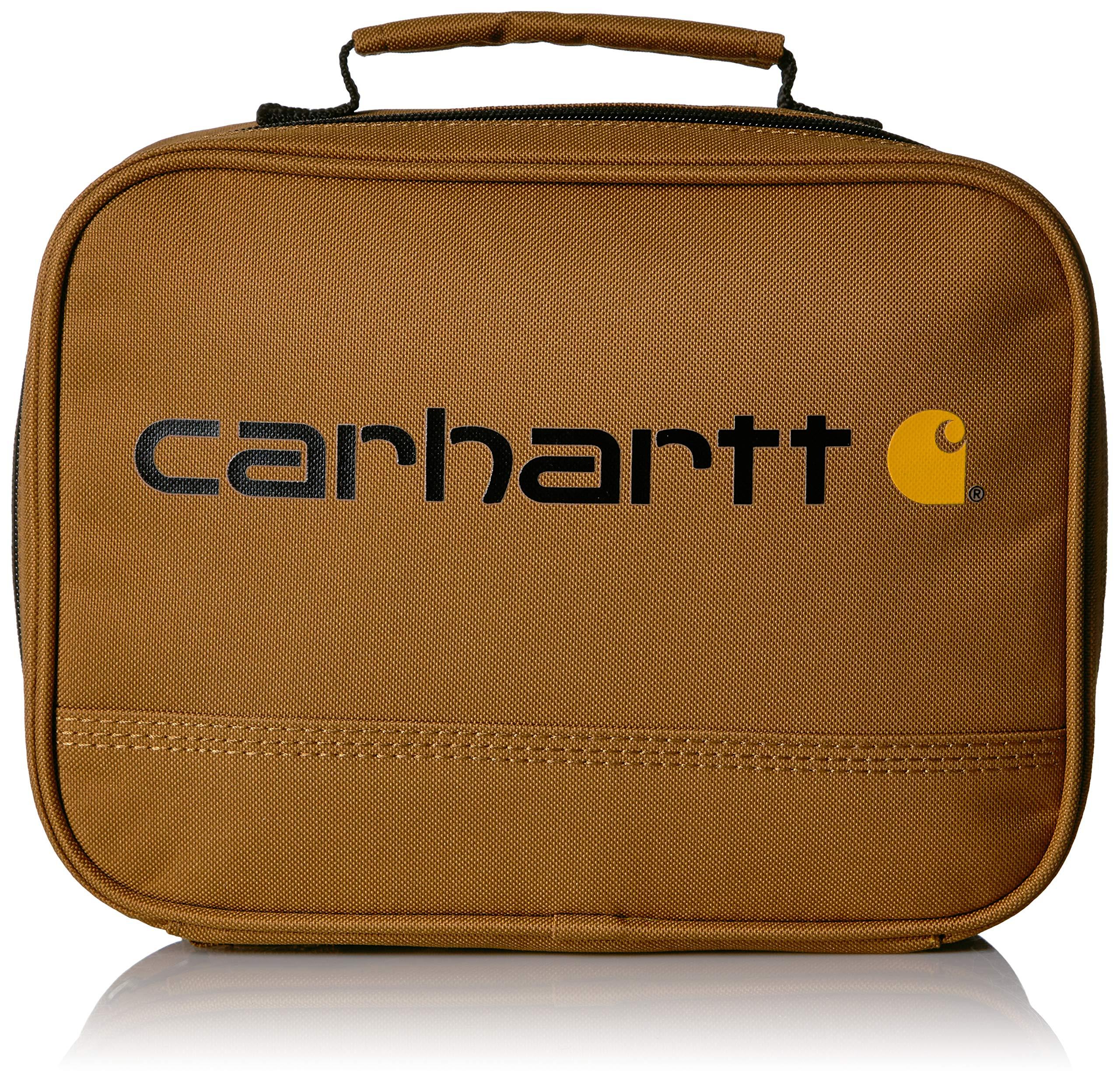 Carhartt Insulated Soft-Sided Lunchbox, Carhartt Brown