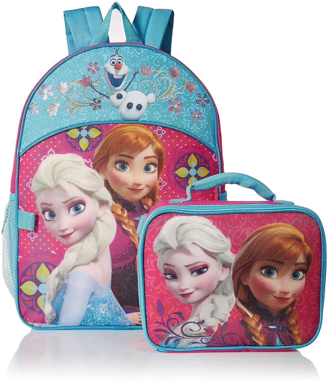 Disney Girls Frozen Backpack Detachable Image 1