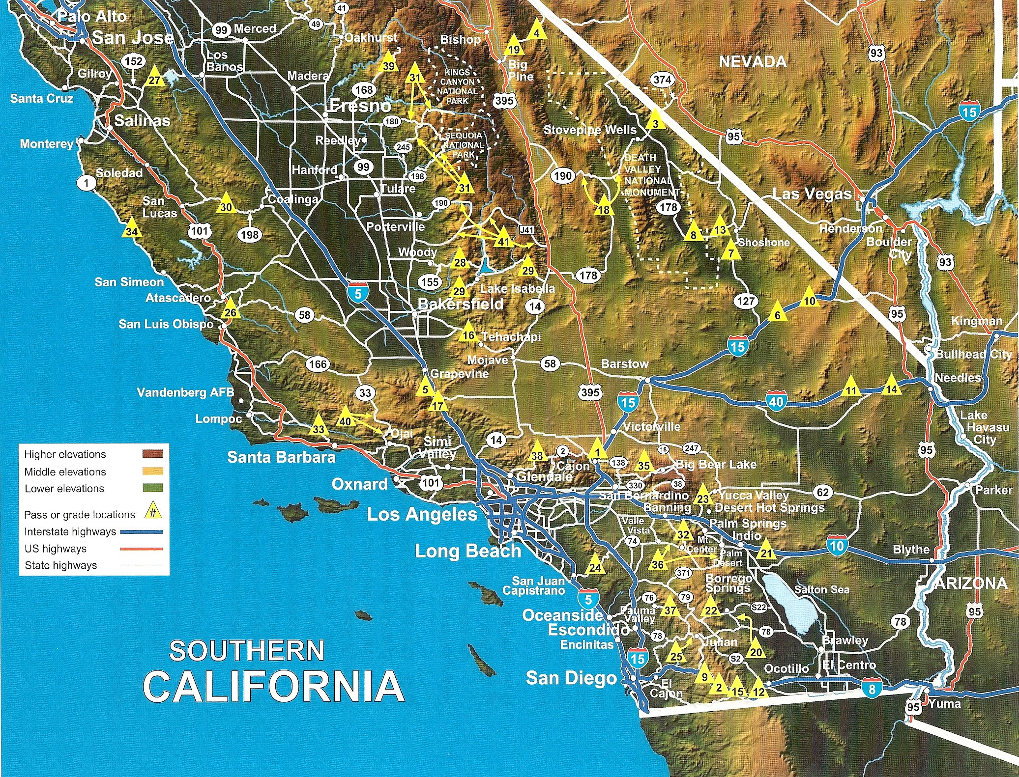 Mountain Directory West for Truckers RV and
