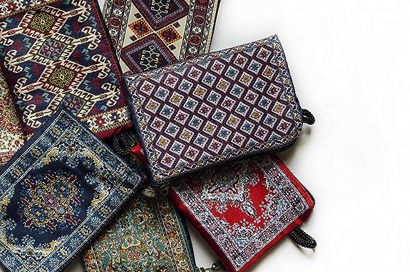 Amazon.com: Oriental Alfombra cartera – Kerman diseño: Shoes