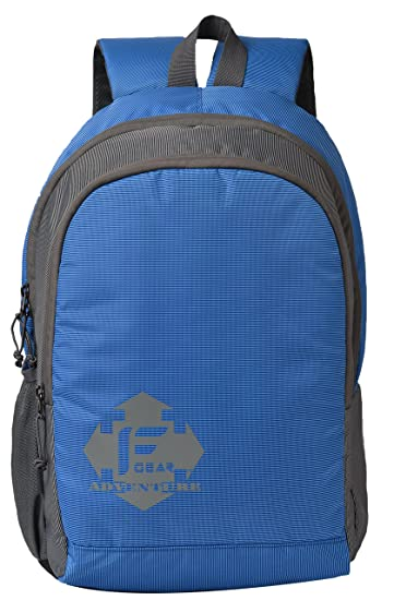 F Gear Castle Neon Royal Blue 24 Liters Rugged Base Backpack  Amazon.in   Bags 506214fd269ae