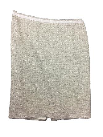 35b330816d54 BODEN Wow Pencil Metallic Skirt Size US 14 L at Amazon Women's ...
