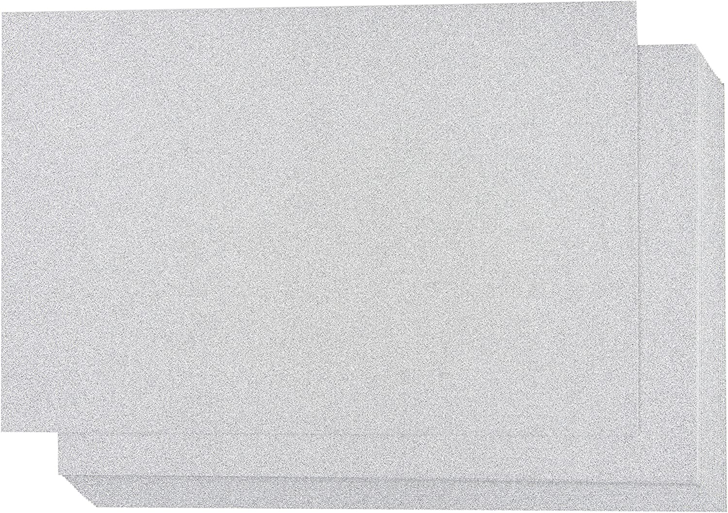 Light Blue 20.3 x 30.5 cm 24 Sheets Best Paper Greetings Glitter Cardstock Paper - Arts and Crafts Supplies