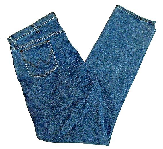 3f925b1c Wrangler Men's Big And Tall Premium Performance Advanced Comfort Jeans (66W  x 34L, Mid Tint) at Amazon Men's Clothing store: