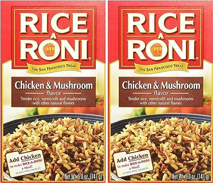 Rice-A-Roni sabor a pollo y muselina 5 oz (paquete de 2)
