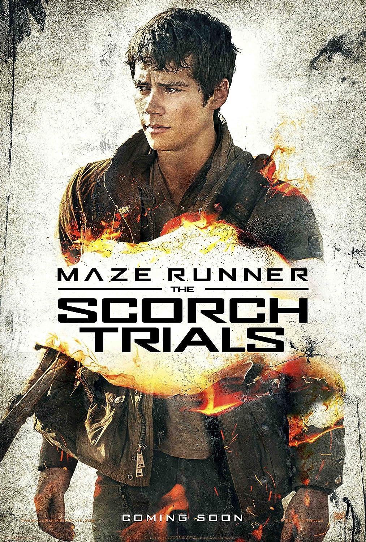 WMG Maze Runner : Scorch Trials - Movie Poster Thomas (24 x 36 Inches), Glossy Finish (Thick): Dylan O'Brien, Kaya Scodelario