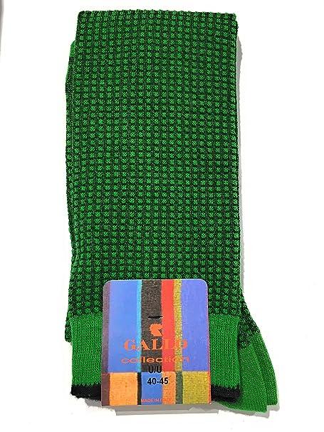 Gallo - Calcetines cortos - para hombre Verde bandiera Talla única