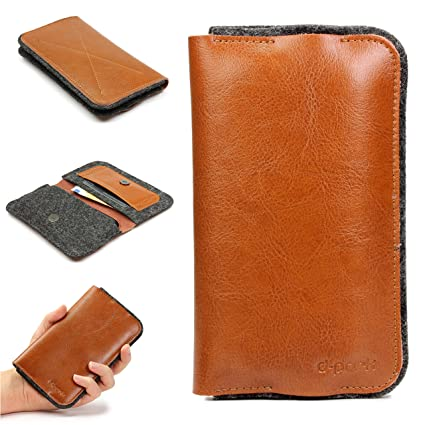 Funda Movil Cartera Billetera Universal D - Park Wallet 4,7 pulgadas Estuche Fieltro +