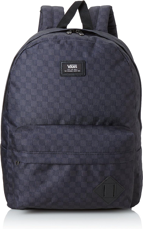 Vans Herren Rucksack M Old Skool II Backpack, grau (schwarzCharcoal kariert), 42.5 x 32 x 12.5 cm, 22 Liter, VONIBA5