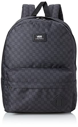 all black vans backpack