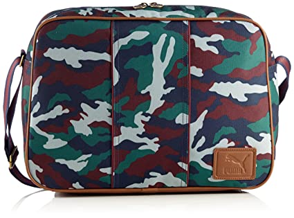 Amazon.com   PUMA Grande Reporter Shoulder Bag 072628 02 camo 0a0f6e443df28