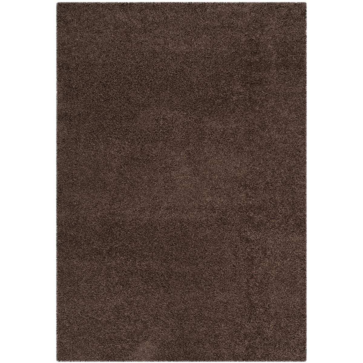 "Safavieh Laguna Shag Collection SGL303F Brown Area Rug (53"" x 76"")"