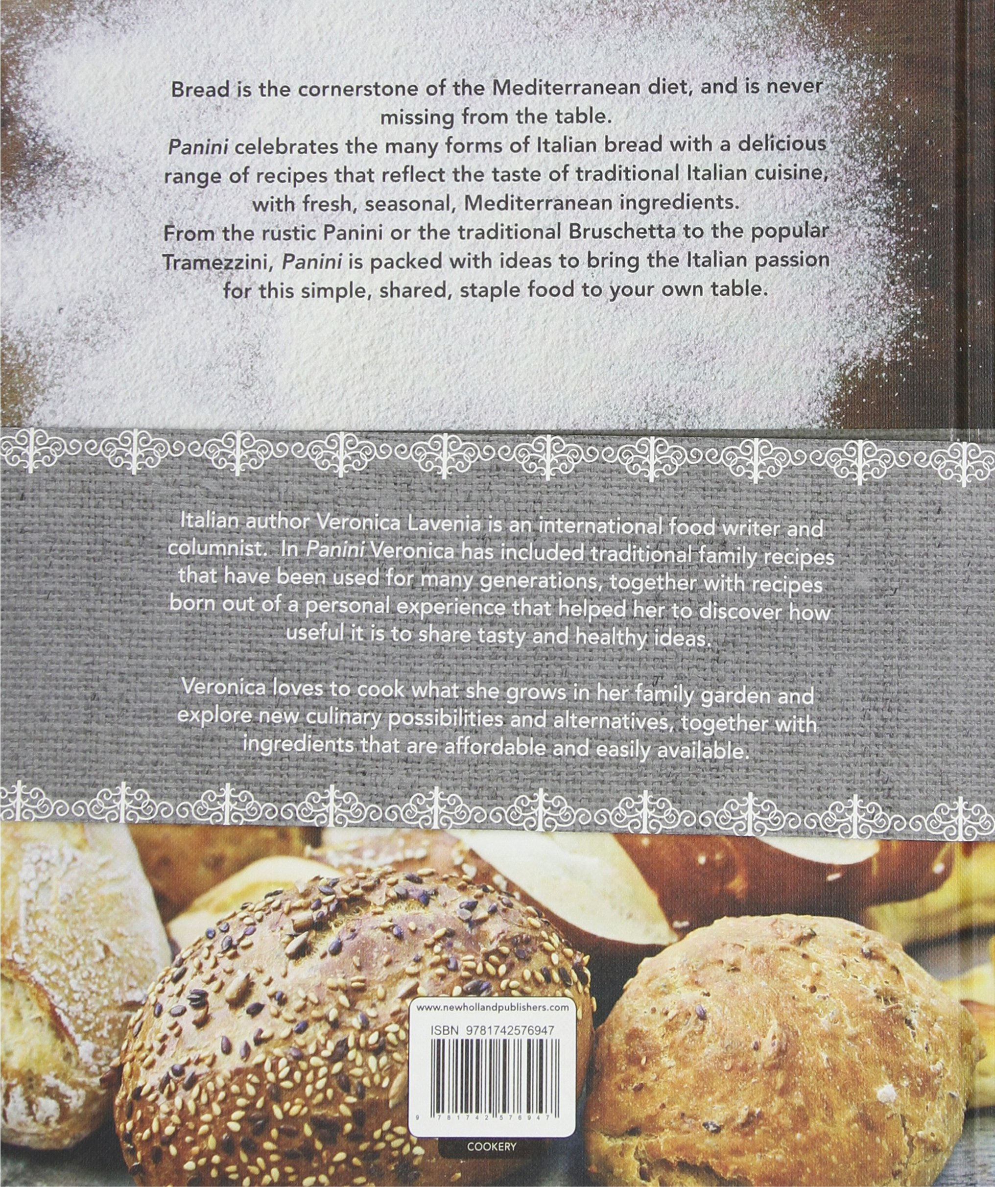 Panini: The Simple Tastes Of Italian Style Bread: Veronica Lavenia:  9781742576947: Amazon: Books