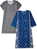 Karigari by Unlimited Women's A-Line Cotton Kurta (Pack of 2)