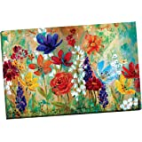 Portfolio Canvas Decor 'Wildflower Fresco I' by E. Franklin Wrapped and Stretched Canvas Wall Art, 24 x 36""