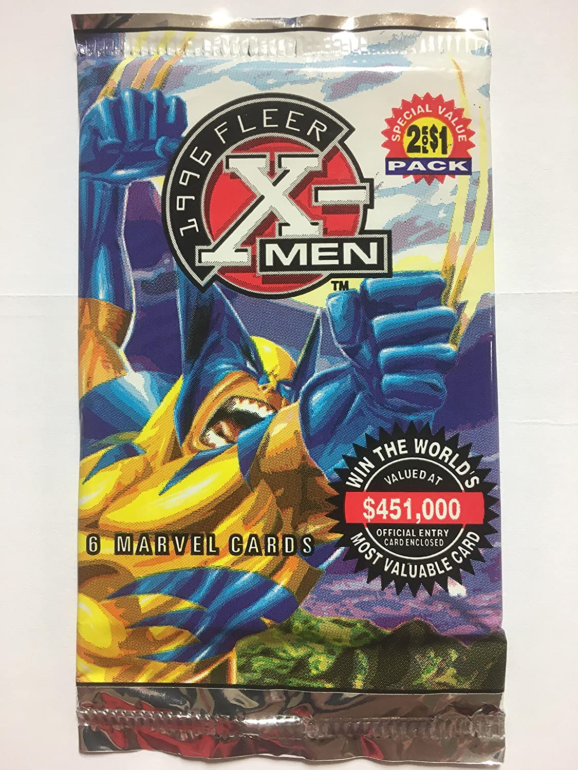 Fleer X-Men Unopened 10 Pack Lot Trading Cards