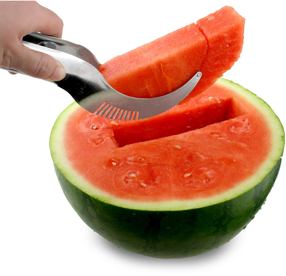 Melon Cut and Serve Tool | watermelon slicer | UncommonGoods