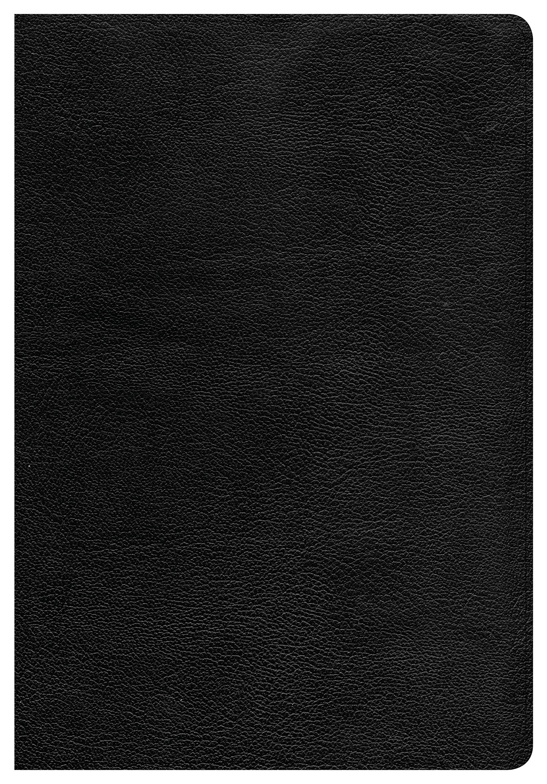 Read Online CSB Super Giant Print Reference Bible, Black Genuine Leather pdf