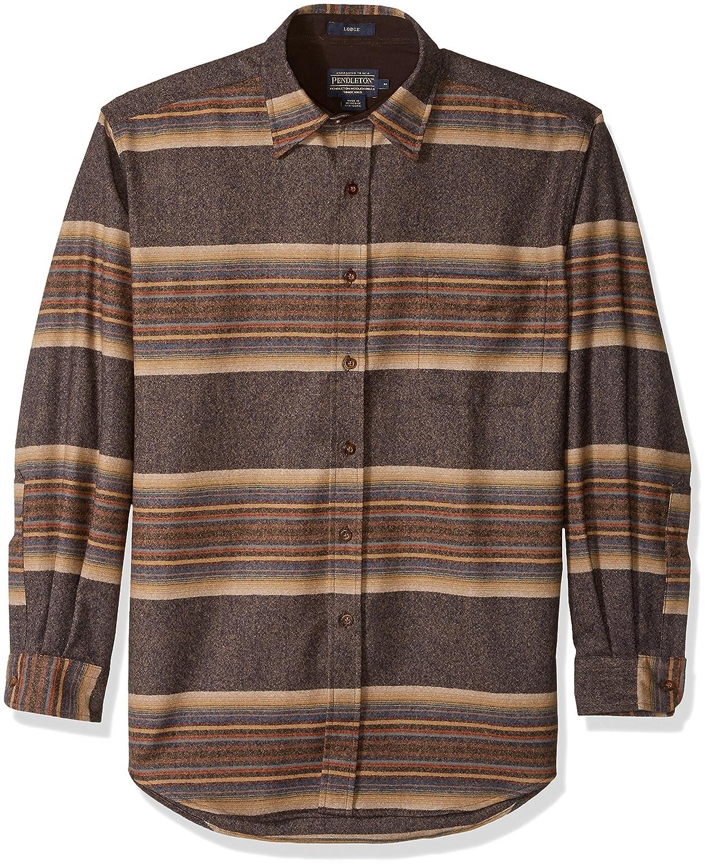 Pendleton Mens Long Sleeve Button Front Classic Lodge Shirt