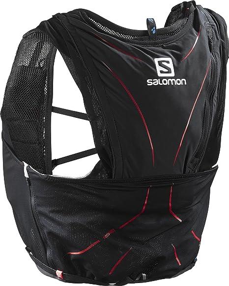 Salomon ADV Skin 12 Set Mochila Ligera de hidratación para Corriendo/Senderismo, Capacidad 12