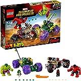 LEGO 76078 Super Heroes Hulk vs Hulk Rosso