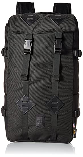 Topo Designs Klettersack 22L Backpack One Size Ballistic Black Black  Leather  Amazon.co.uk  Clothing 82cd86c6b9f06