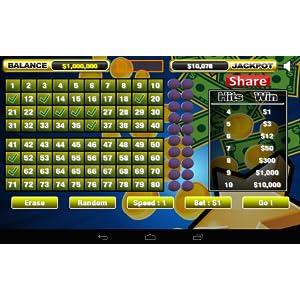 Keno Wild Lucky Stars Bonanza Free Keno Game for Kindle Fire ...