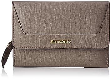 Samsonite Lady Saffiano II SLG L Portefeuille 12 cc plus Zip Ext M, 15 cm
